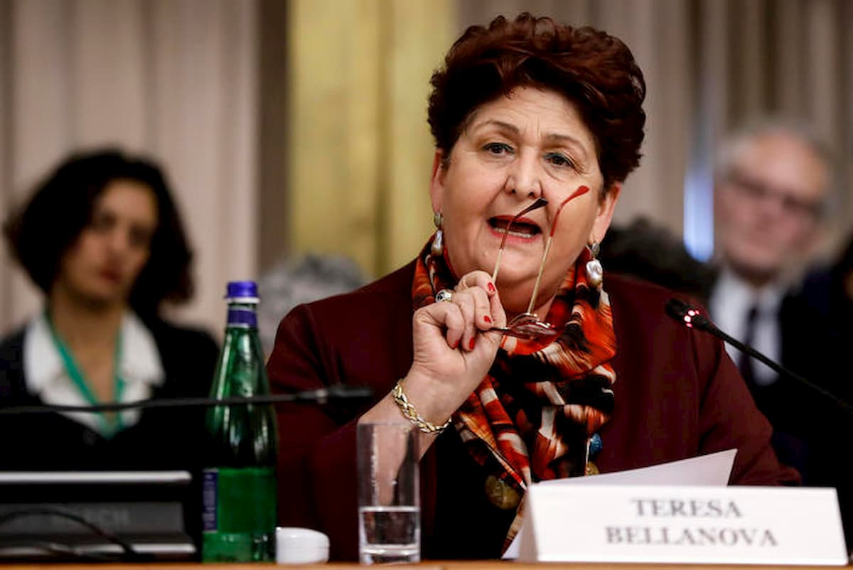 Il ministro delle Politiche agricole Teresa Bellanova (Foto © Ansa)